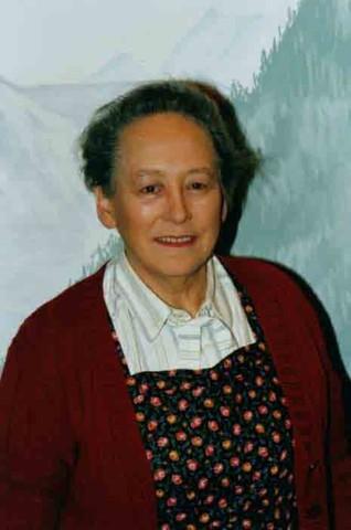zum Gedenken an unsere langjährige Theaterspielerin Martha Amstutz